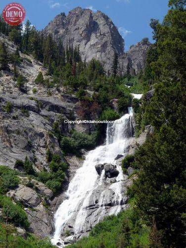 Lower Goat Falls Sawtooth Wilderness