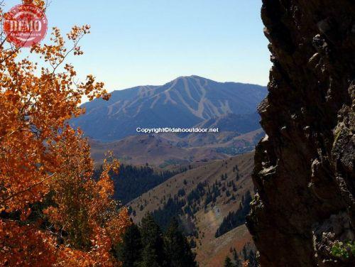 Bald Mountain Sun Valley Fall Aspens