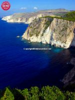 White Cliff Coast Zakynthos Greece