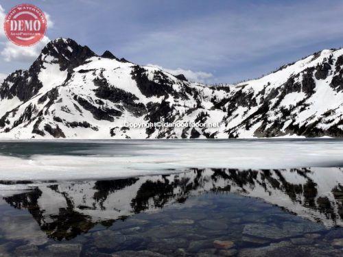 Sawtooth Lake Mount Regan