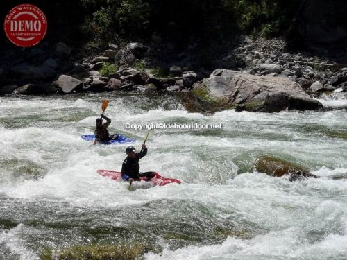 Kayakers South Fork Payette River