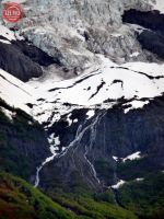 College Glacier Fiord Waterfalls