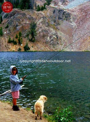 Fly Fishing DEO Mountain Lake