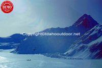 Tasman Glacier Mount Cook New Zealand