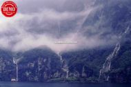 New Zealand Waterfalls Milford Sound