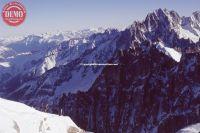 Chamonix Aiguille Du Midi Skiers