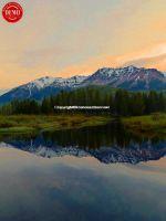 Beaver Pond Boulder Mountains Mirror
