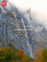 Lauterbrunnen Jungfrau Falls Switzerland