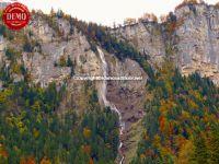 Swiss Waterfalls Fall Colored