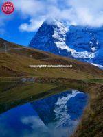 Switzerland Eiger Reflections