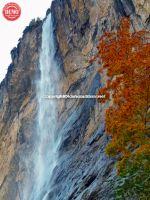 Lauterbrunnen Waterfall Fall Colors