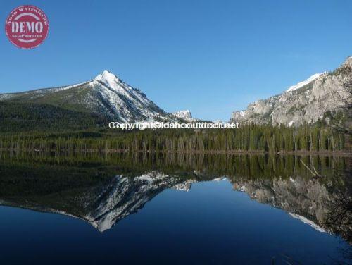 McDonald Peak Pettit Lake Sawtooths