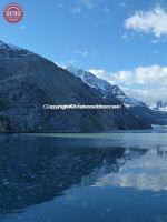 Glassy Icy Water Glacier Bay