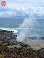 Kauai's Spouting Horn Blow Hole