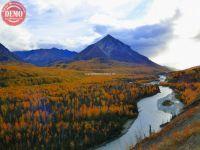 Matanuska River Fall Colors