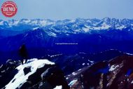 Climber Skier Summit Cob Peak