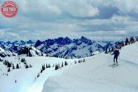 Skier Observation Peak Sawtooths