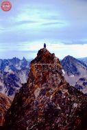 Sawtooths Climber Merrot Peak