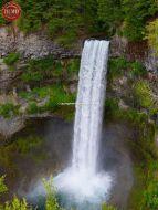Waterfall Near Banff Canada