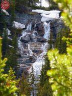 Waterfall Lake Louise Canada