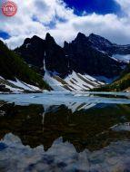 Reflections Lake Agnes Canada