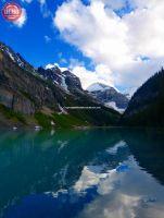 Lake Louise Mirror Reflections