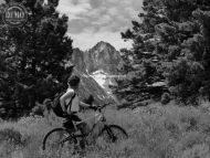 Mountain Biker Sawtooth Alps