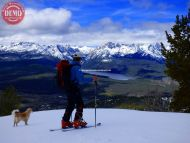 Boundary Creek Ridge Ski Sophie