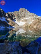 Thompson Peak Reflection Cirque Lake Sophie