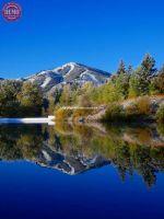 Sun Valley Lake Bald Mountains Reflection