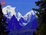 Glacial Filled Pinnacles Denali
