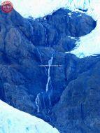 Waterfalls Alaska Meares Glacier