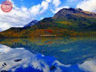 Lake Fall Colors Seward Alaska