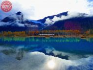 Penguin Creek Trail Mountain Lake