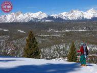 White Clouds Alpine Tourist Sessions Peak