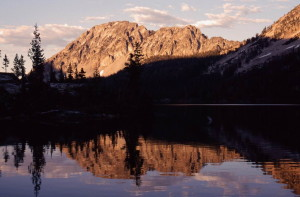 Parks Peak Toxaway Lake