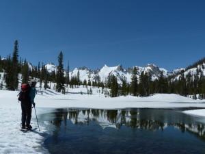 Alice Lake Skier