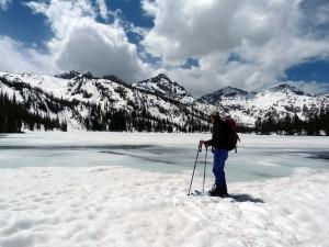 Toxaway Lake Skier